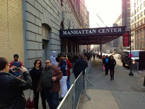 Line Outside Hammerstein for AGT Auditions