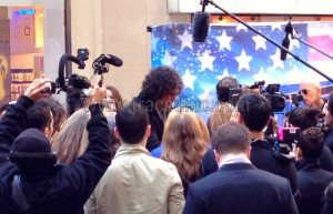 Howard Stern Signing Autographs as he Leaves Today