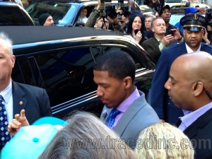 Nick Cannon Getting into Limo
