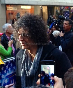 Howard Stern Getting into Limo
