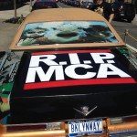 MCA car outside the venue.
