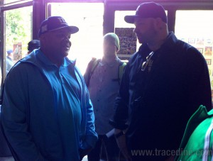 Danny Boy from House of Pain talking with DJ Hurricane