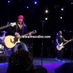 Bret Michaels of Poison and PJ Farley of Trixter Hard Rock Cafe NYC