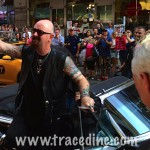 Rob Halford greets fans