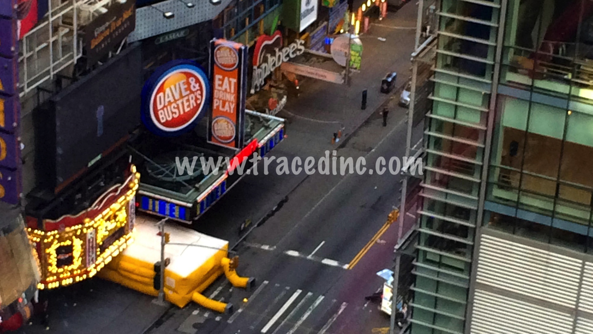 Suicide Jumper New York City 42nd Street