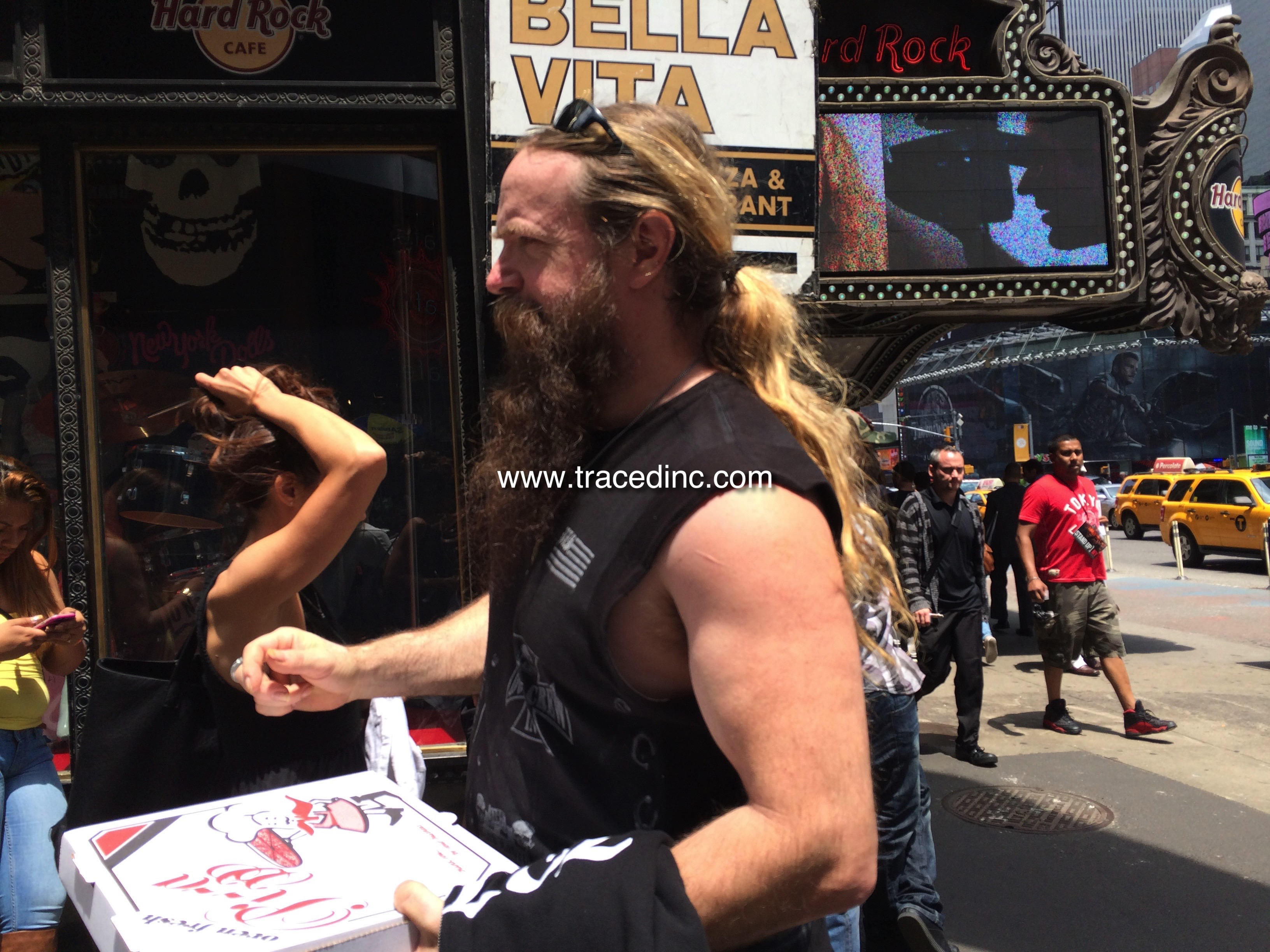 Ran into Zakk Wylde getting lunch