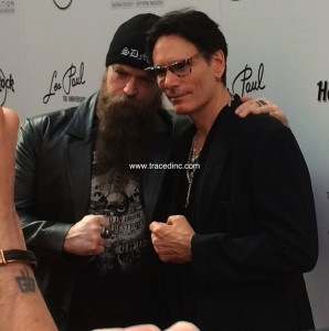 Zakk Wylde and Steve Vai