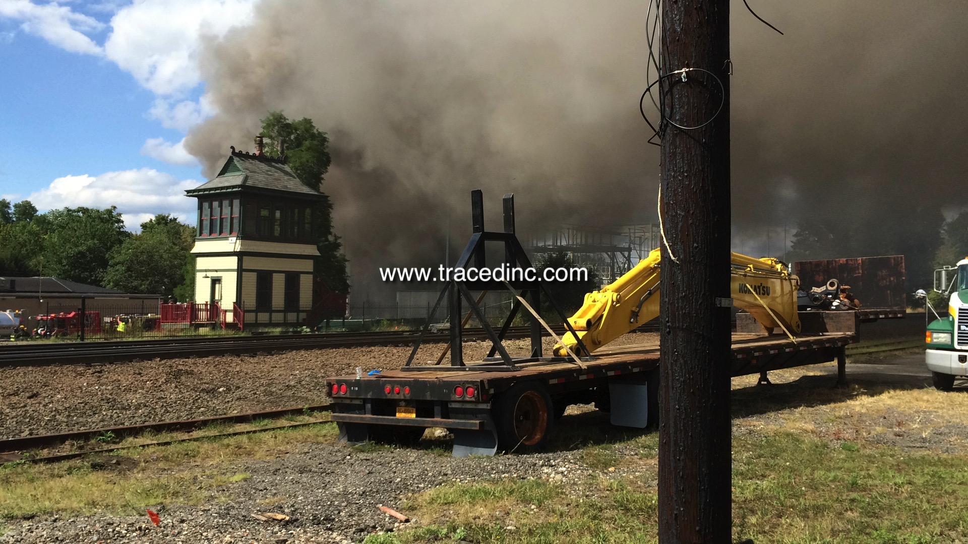 Waldwick PSEG Fire