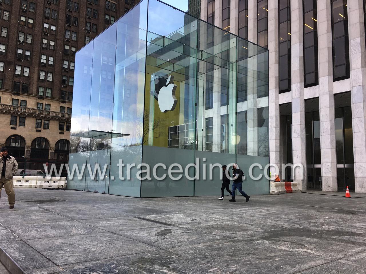 Apple Fifth Ave New York City Renovations