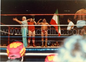 WWF Iron Sheik and Nikolai Volkoff