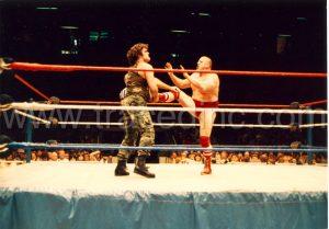WWF Corporal Kirchner and Nikolai Volkoff