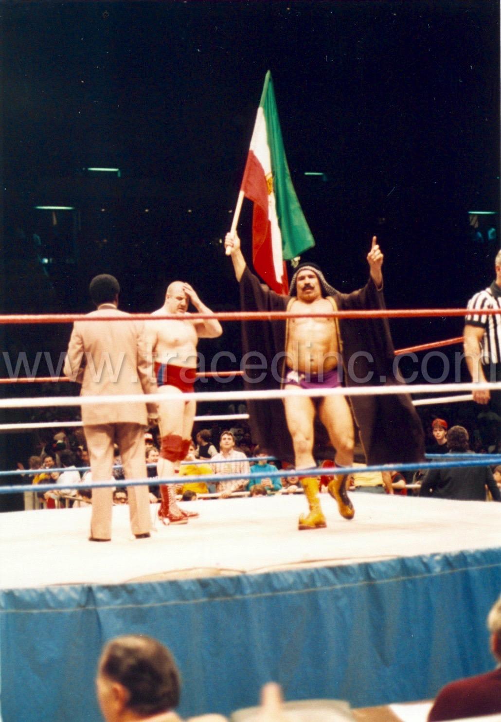 WWF Iron Sheik and Nikolai Volkoff